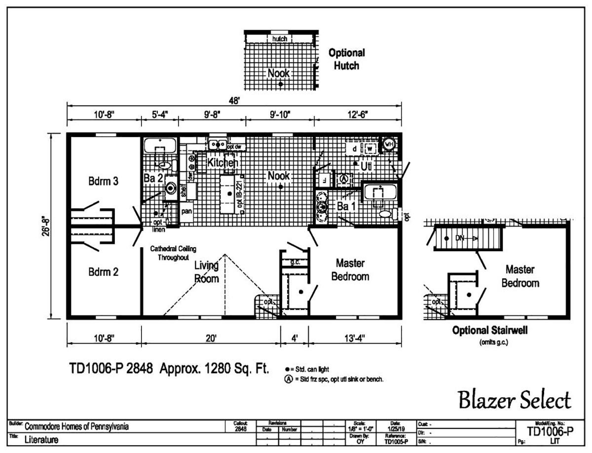 Blazer Select TD1006-P