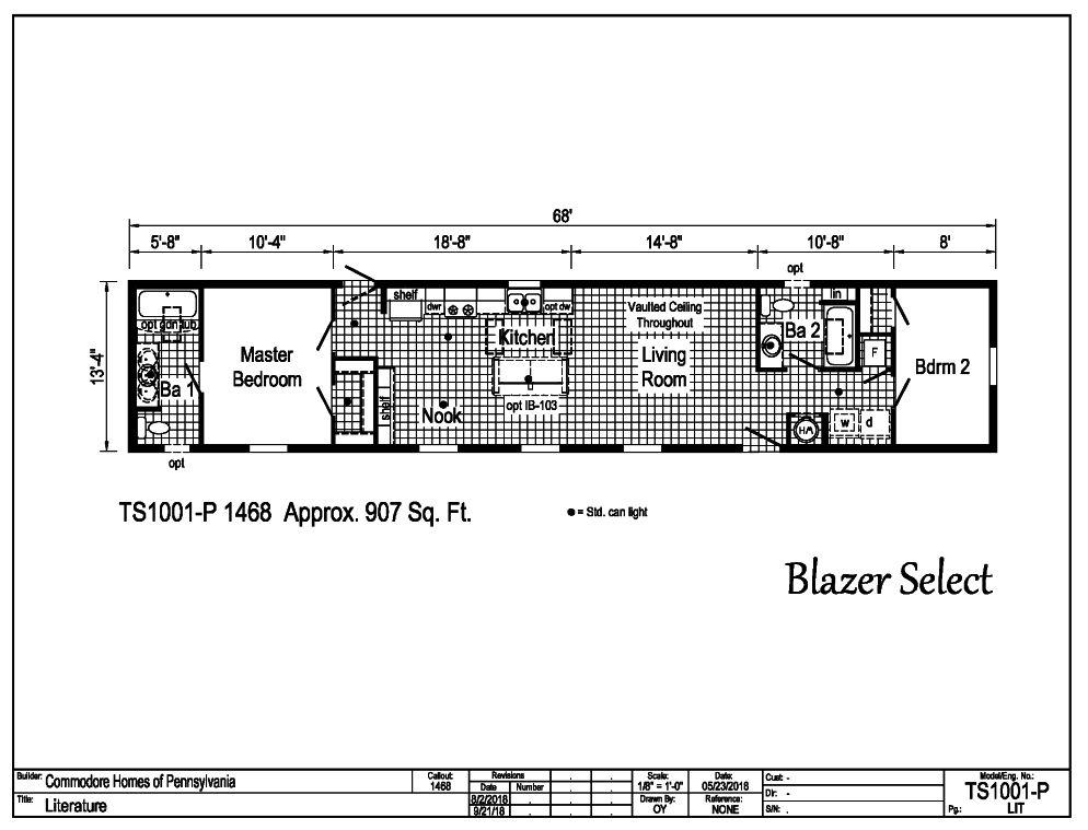 Blazer Select Single TS1001-P