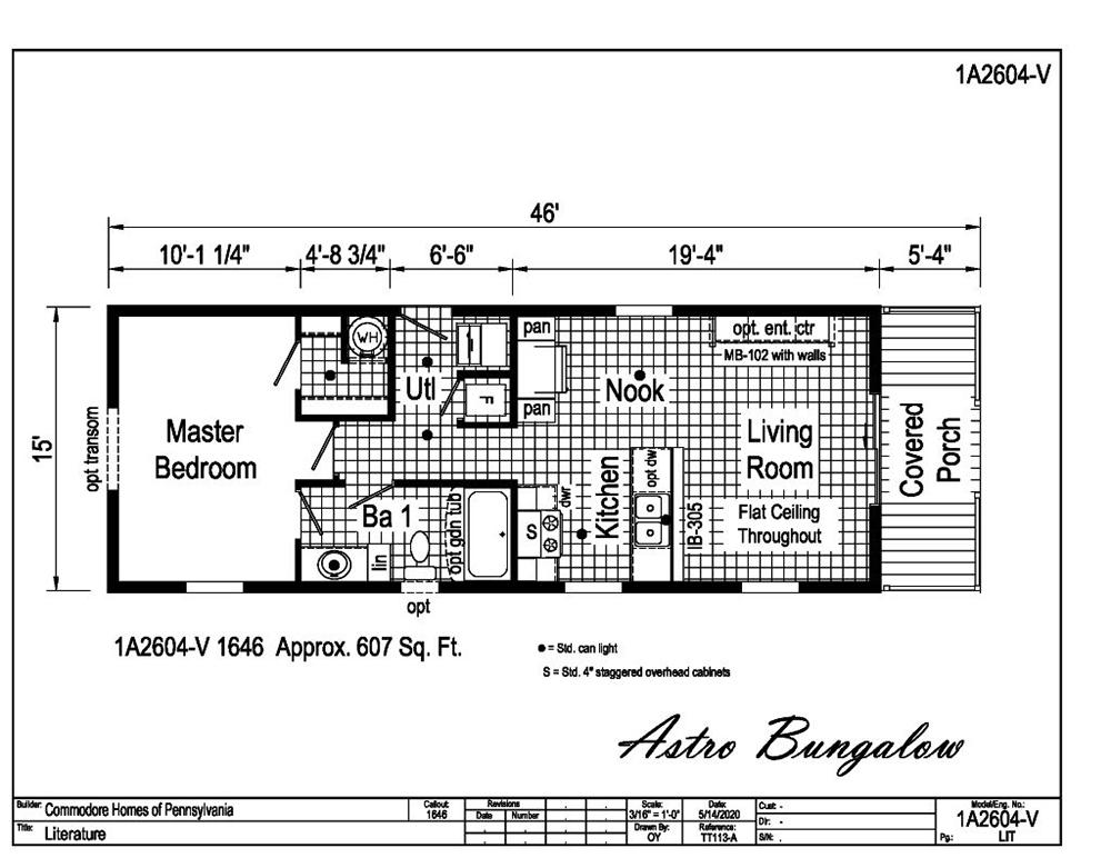 Astro Bungalow 1A2604-V