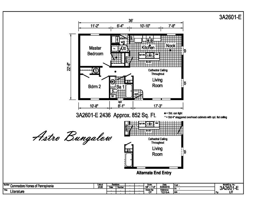 Astro Bungalow 3A2601-E