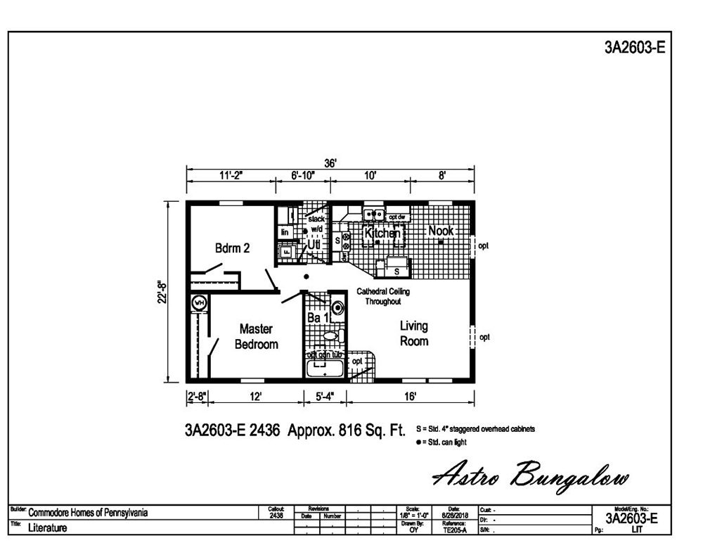 Astro Bungalow 3A2603-E