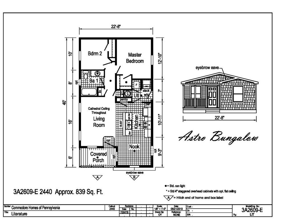 Astro Bungalow 3A2609-E
