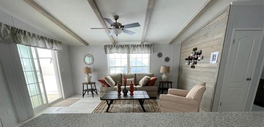 Black Lake Bungalow Living Room